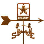 Army Weathervane - New