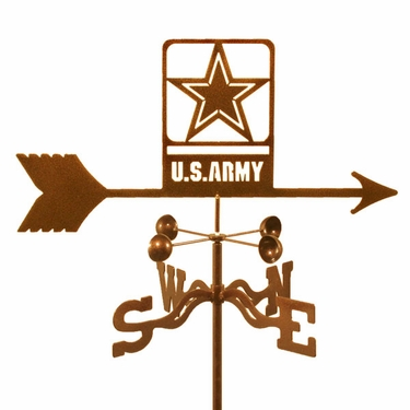 Army Weathervane - New - Click to enlarge