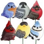Audubon Bird Stakes (Set of 6)