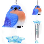 Audubon Blue Bird Wind Chimes (Set of 2)