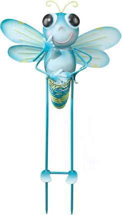 Baby Dragonfly Garden Stake - Click to enlarge