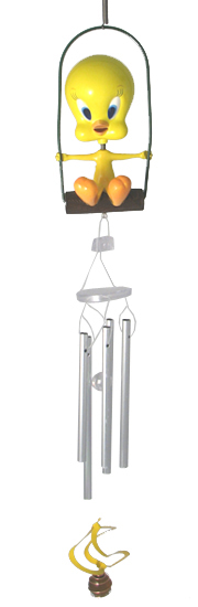 Baby Tweety Bird Wind Chime - Click to enlarge