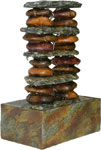 Balanced Stones Tabletop Fountain