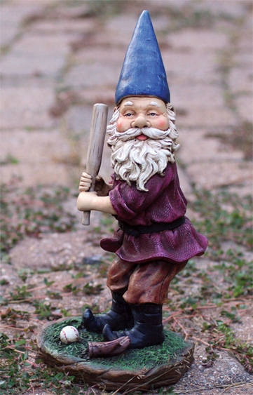 Baseball Gnome Figurine - Click to enlarge