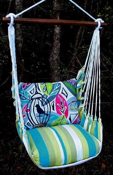 Beach Boulevard Birdcage Hammock Chair Swing Set - Click to enlarge