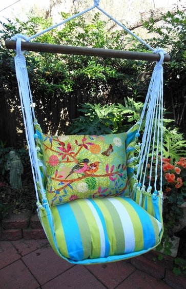 Beach Boulevard Prism Garden Hammock Chair Swing Set - Click to enlarge