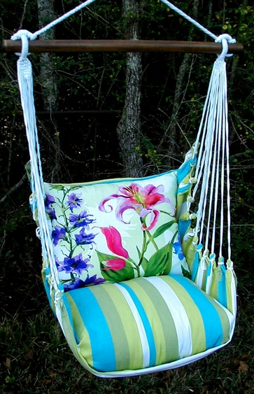 Beach Boulevard Spring Fling Hammock Chair Swing Set - Click to enlarge