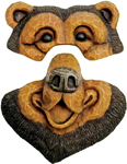 Bear Tree Face