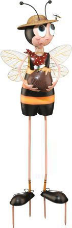 Bee Boy Garden Decor - Click to enlarge