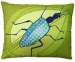 Beetle Outdoor Pillow