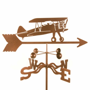 Bi Plane Weathervane - Click to enlarge
