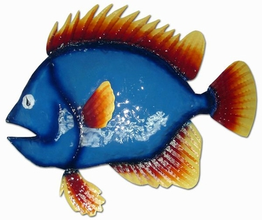 Big Blue Fish Wall Art - Click to enlarge