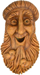 Bird House Tree Face – St. Francis