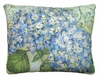 "Blue Hydrangea Outdoor Pillow (18"" x 18"")"