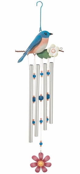 Bluebird Wind Chime - Click to enlarge