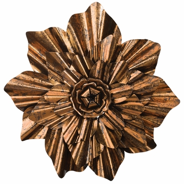 Bronze Flower Wall Decor - Click to enlarge