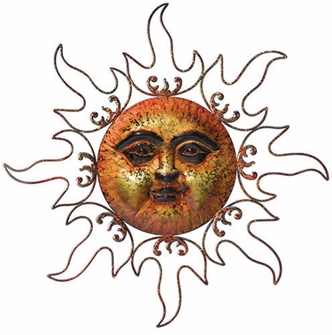 Bronze Marble Sun Decor - Click to enlarge