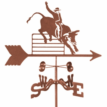 Bull Rider Weathervane - Click to enlarge