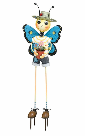 Butterfly Man Garden Decor - Click to enlarge
