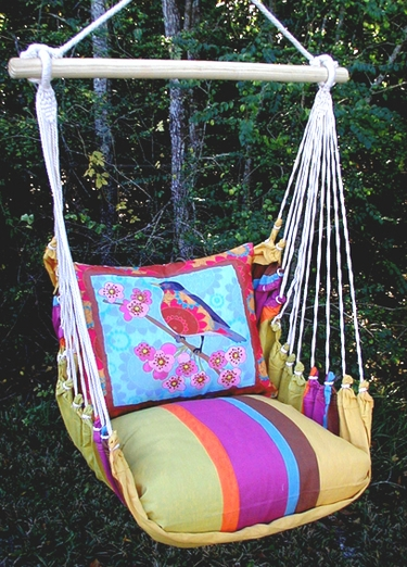 Cafe Soleil Ladybird Hammock Chair Swing Set - Click to enlarge
