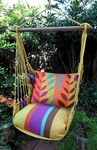 Cafe Soleil Leaves Hammock Chair Swing Set