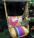 Cafe Soleil Nature Butterflies Garden Hammock Chair Swing Set