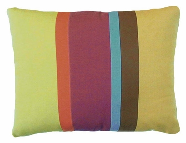Cafe Soleil Stripe Outdoor Pillow - Click to enlarge