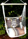 Cappuccino Fun Fish Hammock Chair Swing Set
