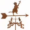 Cat & Butterfly Weathervane