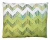Chevron Small Yellow Outdoor Pillow