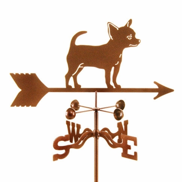 Chihuahua Weathervane - Click to enlarge
