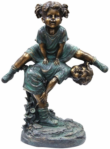 Children Playing Garden Statue - Click to enlarge