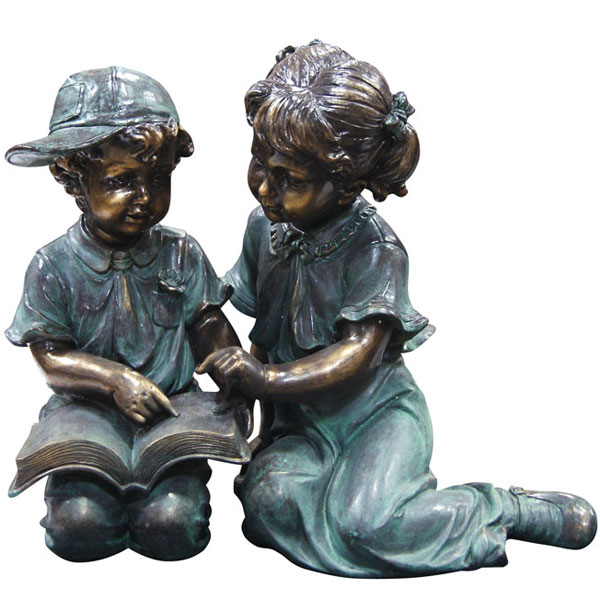 Children Reading Garden Statue only 19999 at Garden Fun