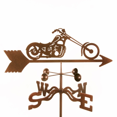 Chopper Weathervane - Click to enlarge