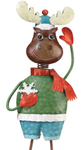 Christmas Moose Garden Decor