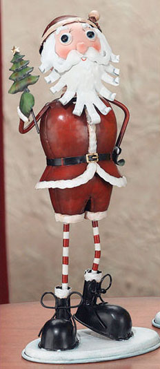 Christmas Santa Figurine - Click to enlarge