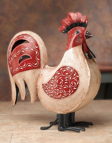 Classic Rooster Decor - Click to enlarge