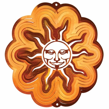 Classic Sun Wind Spinner - Click to enlarge