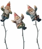 Climbing Gnomes on Vines (Set of 3)