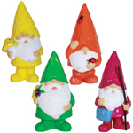 Colorful Woodland Gnomes (Set of 4)