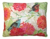 Colors of Nature 2 Birds Outdoor Pillow