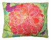 Colors of Nature Flower Outdoor Pillow