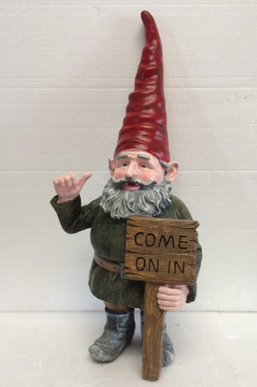 Thumbs Up Welcoming Gnome Only 59 99 At Garden Fun