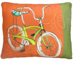 Cool Bicycle Outdoor Pillow
