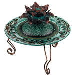 Copper Lotus Tabletop Fountain