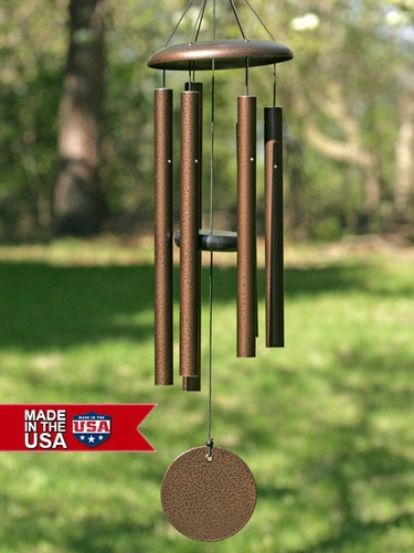29 Inch Corinthian Bells Tuned Wind Chimes - Click to enlarge
