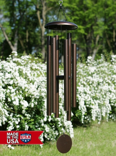 50 Inch Corinthian Bells Tuned Wind Chimes - Click to enlarge