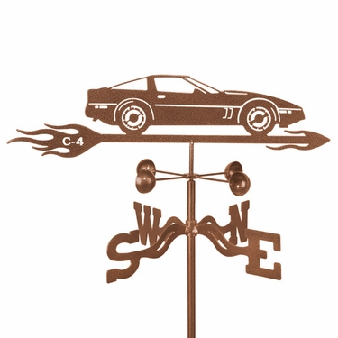 Corvette C4 Weathervane - Click to enlarge