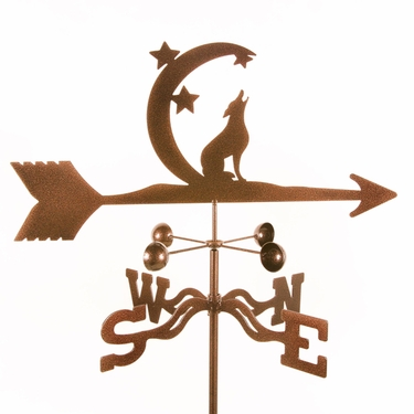 Coyote Weathervane - Click to enlarge