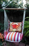 Cristina Stripe Fresh Crab Hammock Chair Swing Set